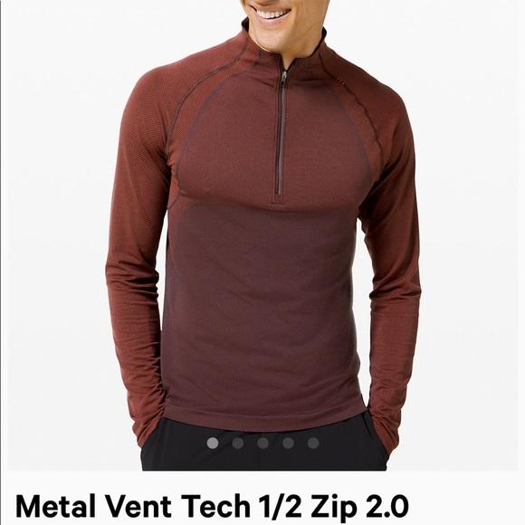 lululemon athletica Other - Lululemon men's metal vent tech 1/2 zip 2.0